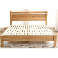 Family Full Size Solid Wood Bed Frame Strong Structure Comfortable Practical