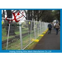 Buy cheap Free Standing Temporary Fencing Panels For Building Site Simple Design from wholesalers