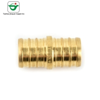 Buy cheap Straight Reducing Couplings 1/2X1/2 Brass Hose Connector from wholesalers
