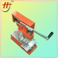 Buy cheap Hot sale hengjin seal ink cup manual pad printing machine from wholesalers