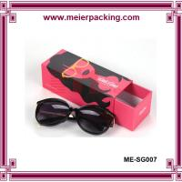 China Wholesale sunglasses hard paper box/Red Printed Rigid Art Paper Drawer Gift Box ME-SG007 on sale