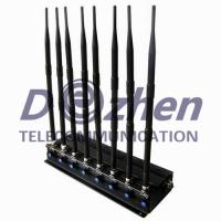 Buy cheap 8 Bands GPS Signal Jammer Adjustable Powerful 3G 4G Cellphone UHF VHF GPS WiFi Type from wholesalers