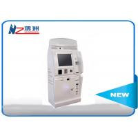 Buy cheap Cash payment kiosk credit card vending machines with passport scanning function from wholesalers