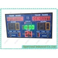 Buy cheap LED Multisport Scoreboard for basketball,netball, wrestling, karate, volleyball from wholesalers