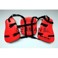 Buy cheap Adult Seahorse Lifevest Vinyl - Dip PVC Boating Life Jackets Three Panel from wholesalers