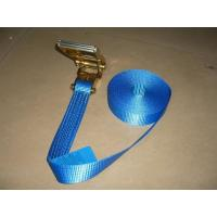 Buy cheap Blue Label Self Tightening Ratchet Straps , Ratchet Straps With Safety Hooks from wholesalers