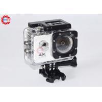 4k Diving Video Wifi Cam Full Hd 1080p , 2.0 Lcd 1050mah Car Video Camcorder