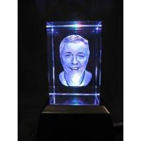 Buy cheap 3D laser engraving crystal from wholesalers