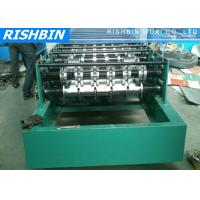 Buy cheap Large Arch Roof Panel / Long Span Roof Panel Roll Forming Machine with PLC Controller from wholesalers