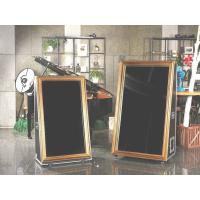 Buy cheap 47 / 55 Inch Fashion Stylish Mirror Me Booth Touch Screen Fotomaton Magic Mirror Photo Booth Case from wholesalers
