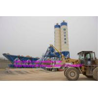 Buy cheap HZS serial concrete production plant productivity 25m3 / h power 60KW from wholesalers