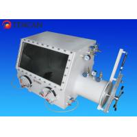 Buy cheap Vacuum Lab Glove Box Isolation Glove Box with 12 Min Hours Pressure Holding Time from wholesalers