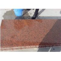 Buy cheap G402 Chinese Red Granite Tianshan Red polished red granite paving stone tiles slabs from wholesalers