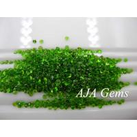 Buy cheap Green Gemsotne Chrome Diopside Jewelry Untreated , Round Shape from wholesalers