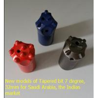 Buy cheap New models of tapered drill bit 7 degree 32mm for Saudi Arabia and the Indian market from wholesalers