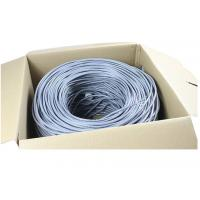 Buy cheap High speed CAT6 CAT5E Copper black Network Cable 350MHZ  UTP LAN Cable 300m a carton from wholesalers