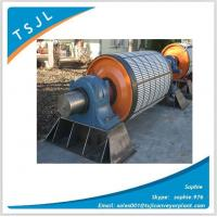 Buy cheap Cold Bond ceramic lagging drive pulley head drum from wholesalers
