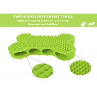 Buy cheap Dog Bath Brush Rubber Bushes for Dogs Cats Pet Short and Long Hair - Soft Flexible Great for Grooming Massaging from wholesalers