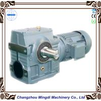 Mingdi solid hollow shaft helical worm reduction gearbox for Hollow shaft gear motor