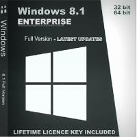 64 Bit Windows 8.1 Enterprise Fast USB Installer With Lifetime Warranty