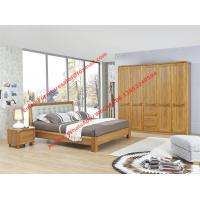 Buy cheap High-grade plate and solid wood furniture for luxury Apartment interior design in Modern nordic style by upholstery bed product