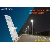 Buy cheap 120W High Power Smart Solar Street Light With High Brightness Bridgelux LED Chips and PV Panels from wholesalers