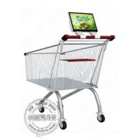 Buy cheap 12.1 Inch Supermarket Shopping Trolley Bus Digital Signage Advertising Rechargeable Battery from wholesalers