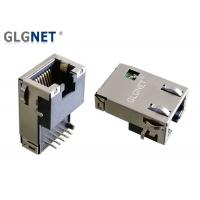Buy cheap 90 Degree Magnetic RJ45 Jack Single Port Tab Down For Network Servers , Routers from wholesalers