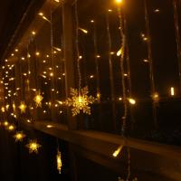 Buy cheap Decorative Lights Christmas lights, 19.7 feet, 40 LED, Christmas gifts, Christmas weddings, party lights Snow f from wholesalers