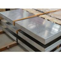 Buy cheap Hot Dip Galvanised Metal Sheet , 40 - 275g Zinc Layer Galvanized Steel Panels from wholesalers