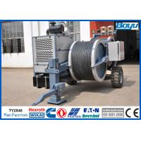 Buy cheap Conductor OPGW ADSS Cable Stringing Equipment / Hydraulic Power Line Tensioner 9 Ton 2x45kN from wholesalers