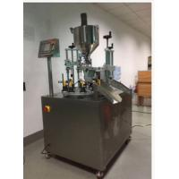 Buy cheap Cosmetic Automatic Tube Filling Sealing Machine , Semi Automatic Liquid Filling Machine from wholesalers