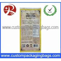Buy cheap Printing Plastic Food Laminated Packaging Bags , Popcorn Food Bag from wholesalers
