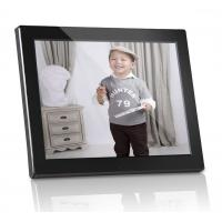 Buy cheap Plastic 12 inch Digital Photo Frames Motion Sensor With Calendar / Clock from wholesalers