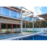 Buy cheap Exterior Tempered Glass Railing Modern Design Terrace Use For Swimming Pool from wholesalers