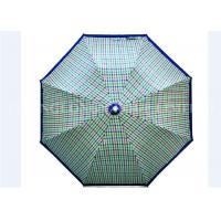 "Lattice 2 Fold Umbrella / Ladies Sun Umbrella Automatic Open 21"" X 8k Size"