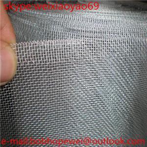 China Electro Galvanized Window Screen on sale