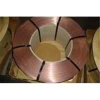 Buy cheap Uniform Coating 0.7% Sn Tyre Bead Wire for Vehicles 2160N Break Force 0.89mm from wholesalers