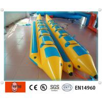 Buy cheap 0.9mm PVC Tarpaulin Inflatable Fishing Boat With Double Tubes For Water Games from wholesalers