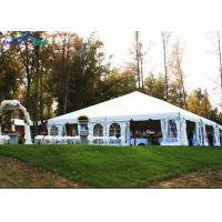 Buy cheap 500 People Luxury outdoor wedding marquee with Roof Lining and Curtains from wholesalers