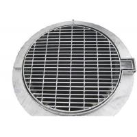 Buy cheap SS Storm Water Galvanised Drainage Grates Welded Flush Top Steel Material from wholesalers