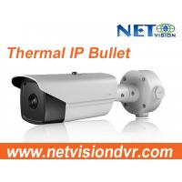 Buy cheap Thermal Network Bullet Camera, Thermal Imaging, Advanced fire detection algorithm, 640*512 resolution from wholesalers