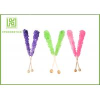 Buy cheap Custom Decorative Cake Pop Sticks , Wood Round Sticks For Cotton Candy from wholesalers