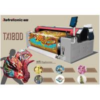 Buy cheap 4 Colors Reactive Sublimation Printing Machine 34.5sq.M Per Hour from wholesalers