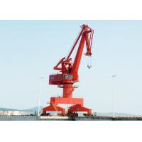 Buy cheap 25 Ton Outdoor Yard Port Gantry Crane , Electric Cantilever Gantry Crane from wholesalers