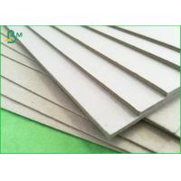 Buy cheap Duplex Grey Board Paper 1.5mm In Sheet Size , Grey Chipboard 1000gsm For Puzzles product