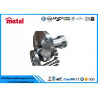Buy cheap Petroleum Industry Forged Alloy Steel Flanges ASME B16.48 Standard For Connection from wholesalers