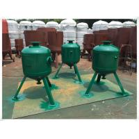Buy cheap Carbon Steel Vertical Air Receiver Tank For Water Treatment Customized Color product