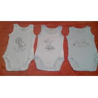 China Fresh Apparel stock 90000Pcs New born Baby Rompers Cheap BB jumpsuit surplus Clothes stock on sale