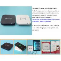 Buy cheap Wireless Charger with 3500mah Power bank product